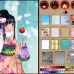 Anime Kimono dress up game