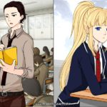 Manga Creator: School Days page.12