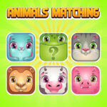 Animals Memory Matching