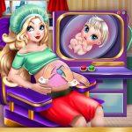 Apple Princess Pregnant Check Up