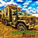 Army Trucks Jigsaw