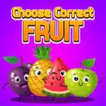 Choose Correct Fruit