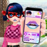 Cute Lip Design For Marinette