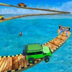 Impossible Tracks Jeep Stunts Driving Game