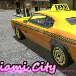Miami Taxi Driver 3D