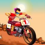Moto Hill Bike Racing