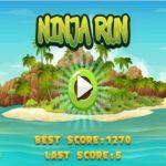 Ninja Run HTML 5
