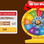 Spin Wheel Earn Cod Points