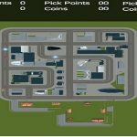 Top Down Taxi Car Game