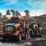 Trucks in Mud Jigsaw
