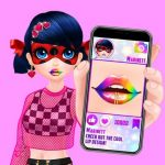 Cute Lip Design For Marinett