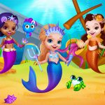 Little Mermaids Dress Up