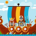 Spartan And Viking Warriors Memory