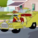 The Simpsons Car Jigsaw